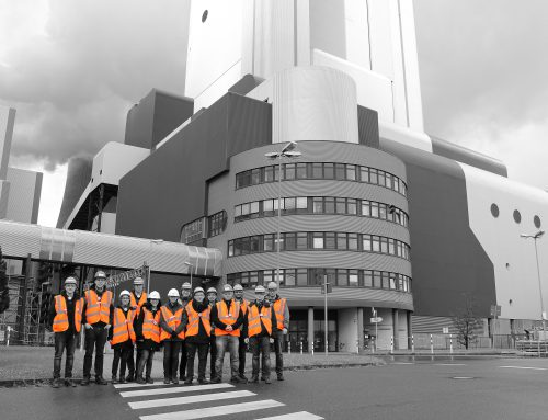 Visit at RWE Niederaußem power plant