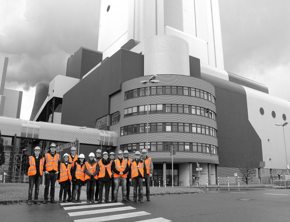 Visit at RWE Niederaußem power plant